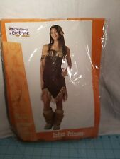 California Costume: Junior's Teen (3-5) Indian Princess 5 Piece Halloween Outfit