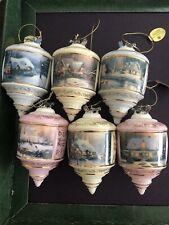 New listing thomas kinkade christmas ornaments