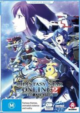 Phantasy Star Online 2 the Animation Complete Series NEW R4 DVD