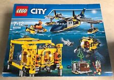 "JEU ""LEGO CITY"" - ""LA BASE OPERATIONNELLE EN HAUTE MER"" - 60096 - RARE"