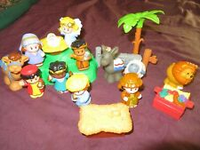 Fisher Price Little People Christmas Nativity Play Set Playset Toys Parts NR