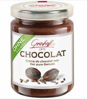 Grashoff Chocolat Crème de Chocolat Noir 250 g - Candy Cream from Germany