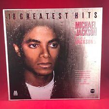 MICHAEL JACKSON & THE JACKSON 5 18 Greatest Hits UK vinyl LP Excellent Condit A
