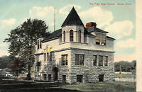 The Pratt High School, Essex, Connecticut, Early Postcard, Unused