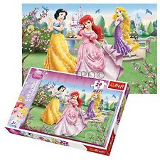 Trefl 24 Piece Maxi Girls Princesses Garden Fountain Large Pieces Jigsaw Puzzle