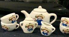 Vintage Madeline 9 Piece Child's China Tea Set 1997