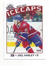 2015-16 St. John's IceCaps (AHL) Joel Hanley (Tucson Roadrunners)