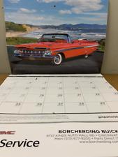 Gm Muscle Car Calendar 2021