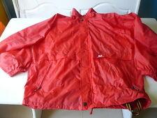 kway k-way veste vintage rouge L  se met en boule
