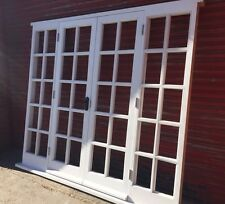 External Hardwood French Doors with sidelights Bespoke! Made to measure! Glazed