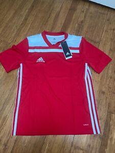 Adidas Boys 8-20 Soccer Regista 18 Jersey Adidas - Size Large Boy's