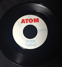 "ATOM Records 45"" The Modulation Corporation Worms /What To Do TNT 60's Garage"