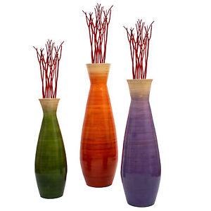 Orange Floor Vase Vases For Sale In Stock Ebay