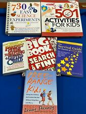 6 x Books. Parenting Gifted Kids, Free Range Kids, Experiments,501-Activities
