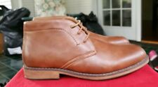 NEW - SONOMA Men's 'VITALIZE' CUSHIONED ANKLE LACE UP Brown BOOTS  US 9 Wide