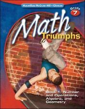 Math Triumphs, Grade 7, Student Study Guide, Book 1: Number and Operations,