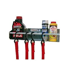 Pit Posse 465 Tie Down Hanger Holder Rack Aluminum Enclosed Race Trailer Shop...