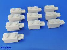 LEGO ® NR - 6055883/1x2 cerniera grunbaustein Bianco/10 pezzi