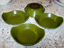 COPCO OF DENMARK CAST IRON MICHAEL LAX 4 ROUND INDIVIDUAL AU GRATINS DARK GREEN