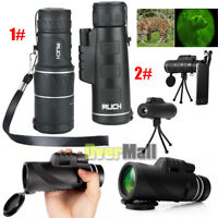 Day & Night Vision 40X60 High Power Zoom Optical Monocular Telescopes Outdoor US