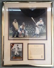1993 The Iron Horse Lou Gehrig Limited Edition Lithograph Matted In Frame