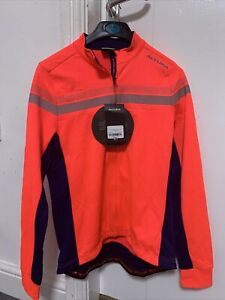 Altura Women's Nightvision 4 Long Sleeve Cycling Jersey  Pink/Blue Size 16