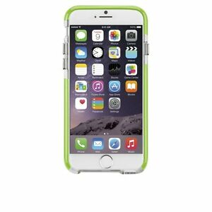 Case-Mate iPhone 6 Tough Case in Clear/Lime