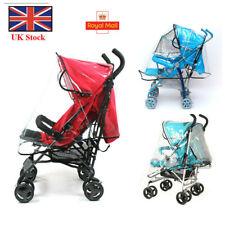 Universal Buggy Rain Cover For Baby Pushchair Stroller Pram Canopies Waterproof