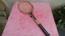 raquette de tennis vintage Dunlop Powerwood  en bois