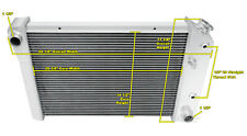 3 Row SZ Champion Radiator for 1978 - 1980 Chevrolet Monza