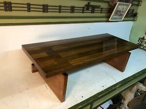 Lane Rectangular Mid-Century Modern End Table Coffee Table Style 1448 41 MCM