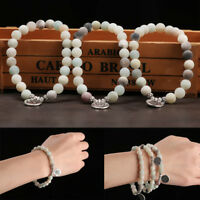 coloré le yoga. la pierre naturelle des perles mala bracelets rune bracelets