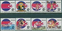 New Zealand 1989 SG1530-1537 Commonwealth Games set MNH