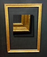Eleganter Bilderrahmen Berliner Leiste. Gemälderahmen Spiegelrahmen  84,5x60 cm