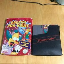 Krusty's Fun House Simpsons Boxed Game - Nintendo NES PAL