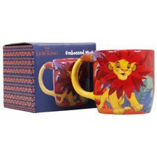 Disney The Lion King Simba Can't Wait To Be King Shaped 350ml Embossed Mug Boxed
