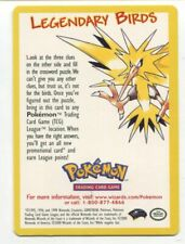 Pokemon Promo Card Legendary Birds