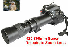 420mm-800mm Super Telephoto Lens Manual Zoom for Pentax K500 K100 K3 K5 K7 K20D