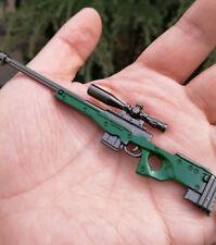 AWP L96A1 Sniper Weapon gun  BattleField4 Battleground 4.5inch Keychain