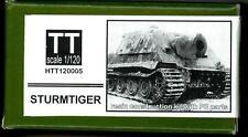 Hauler Models 1/120 German STURMTIGER TANK Resin & Photo Etch Model