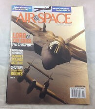 Lord of the Skies F/A-22 Raptor P-38 Lightng  Air & Space Smithsonian Magazine