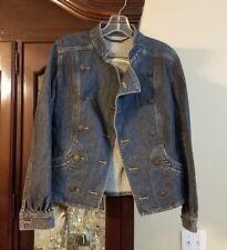 Womens Gianni Bini Denim Jacket Size S/P