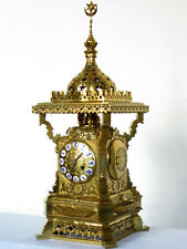 Exceptionnelle antique pendule type ottoman french carriage clock ca 1860