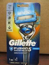 NEW!! Gillette Fusion5 PROSHIELD CHILL 1 Cartridge 1 Razor (6079)