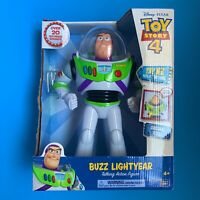 """Pixar Toy Story Talking Buzz Lightyear Deluxe Action Figure 12"""" New In Box"""