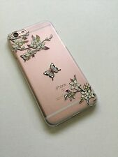 Classical Transparent Design Pattern Back Case Cover For iPhone 6/6s