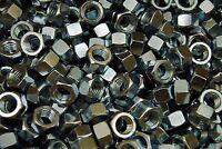 (200) 1/2-13 Grade 5 Hex Finish Nuts - Zinc Plated - Coarse