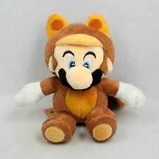 New Nintendo Super Mario Raccoon Plush Figure