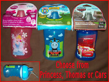 THOMAS or PRINCESS or CARS - Spill-Proof DRINK CUP / BOTTLE 9m+   BPA Free - NEW