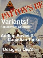 Variants & ReplacementVariant Counters for Patton's Best, Avalon Hill